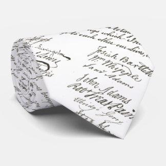 Cravate Déclaration d'indépendance