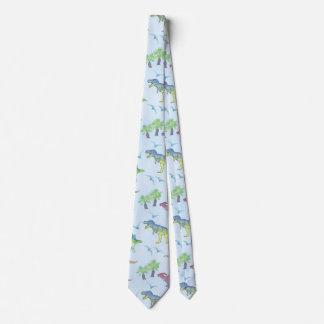 Cravate DINOSAURES ! par Frank-Joseph