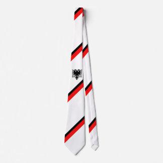 Cravate Drapeau albanais