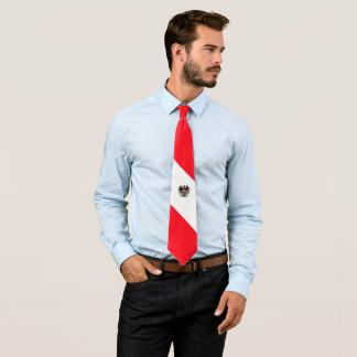 Cravate Drapeau autrichien