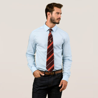 Cravate Drapeau danois de rayures
