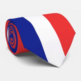 Cravate Drapeau de Français Tricolore de la France