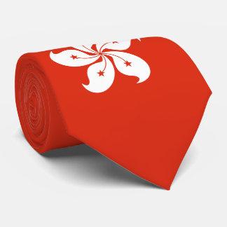 Cravate Drapeau de Hong Kong