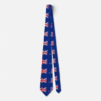 Cravate Drapeau de la Nouvelle Zélande