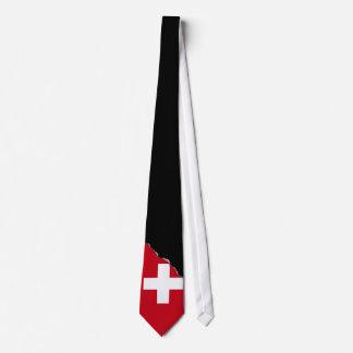 Cravate Drapeau de la Suisse