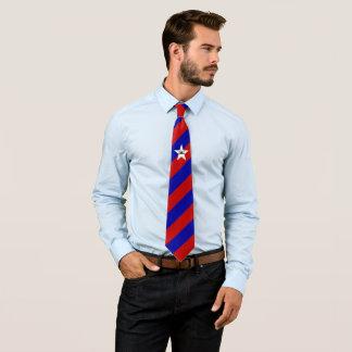 Cravate Drapeau de San Antonio d'OPUS