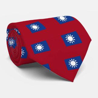 Cravate Drapeau de Taïwan République de Chine