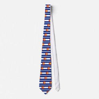 Cravate Drapeau du Colorado