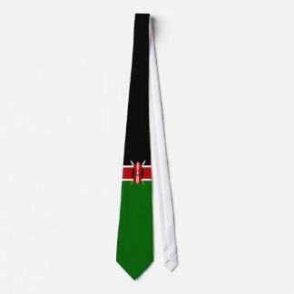 Cravate Drapeau du Kenya