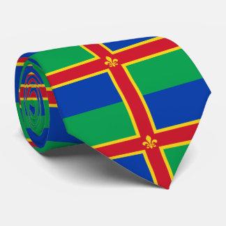 Cravate Drapeau du Lincolnshire