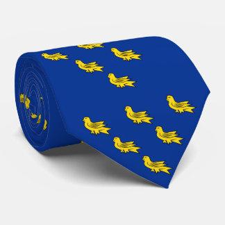 Cravate Drapeau du Sussex