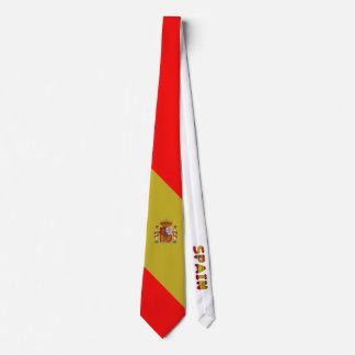 Cravate Drapeau espagnol
