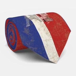 Cravate Drapeau et symboles de la France ID156