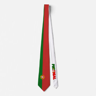 Cravate Drapeau portugais