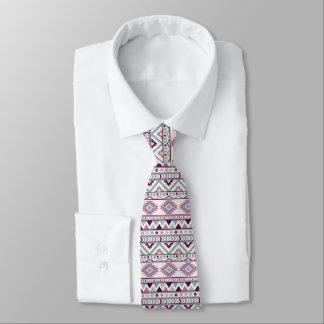 Cravate du concepteur des hommes aztèques pourpres