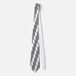 Cravate Échecs d'arbre de Chirstmas