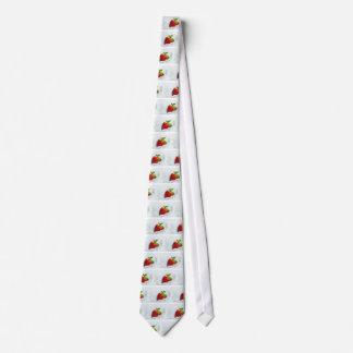 Cravate Éclaboussure de fraise