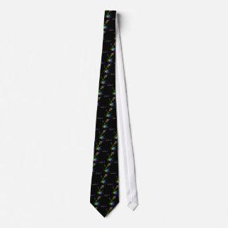 Cravate élégante d'art de fractale