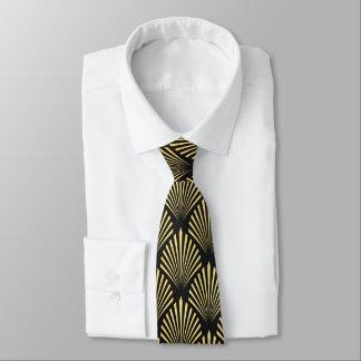 Cravate élégante de motif d'art déco