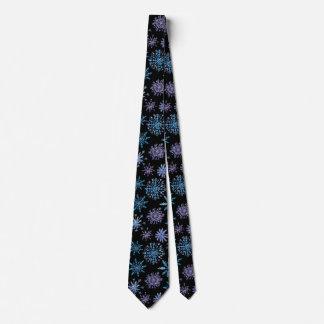 Cravate élégante des flocons de neige | de Noël
