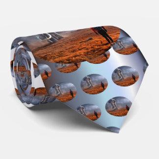 Cravate Éléphant et homme d'imaginaire