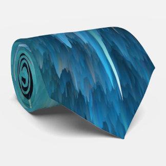 Cravate Explosion bleue