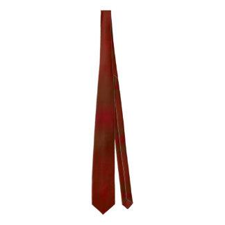 Cravate faite sur commande de bloc rouge