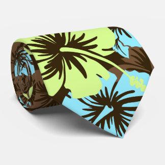 Cravate florale épique de Hawaïen de ketmie