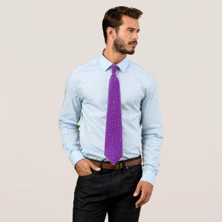 Cravate Foulard pourpre majestueux victorien vintage de