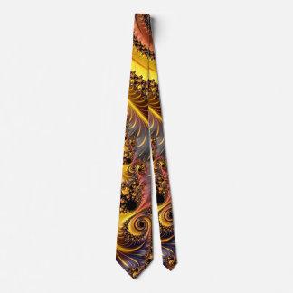 Cravate Fractales de fantaisie et d'amusement avec les