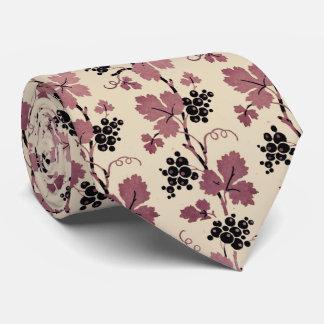 Cravate française vintage de vigne