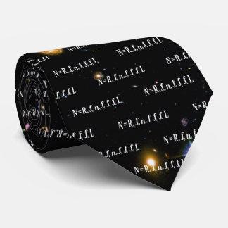 Cravate Galaxies profondes de champ de Hubble d'équation