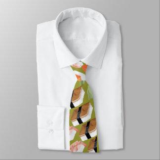Cravate géniale drôle de sushi avec vos sushi