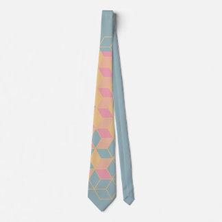 cravate géométrique