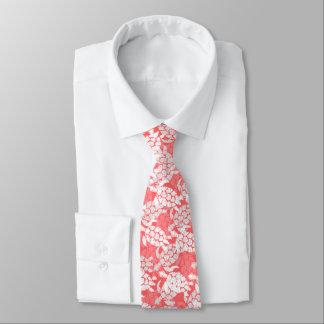 Cravate Goyave de Hawaïen de tortue de mer de Honu Aloha -