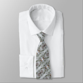 Cravate grise chique