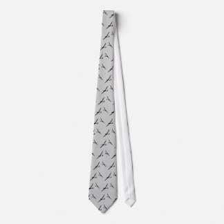 Cravate grise de planeur