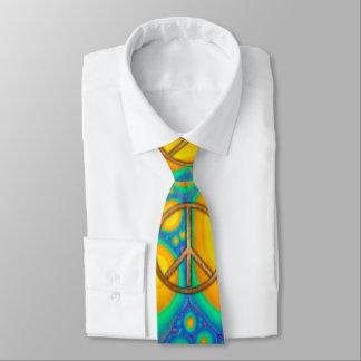 Cravate hippie de Psychadelic de cannelure des années 60