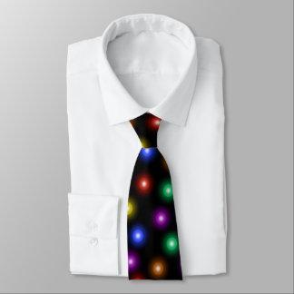 Cravate Illustration élégante fraîche de motif de lumières
