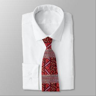 Cravate indigène de beaucoup de tribus