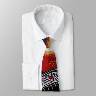Cravate indigène de Sun de lézard