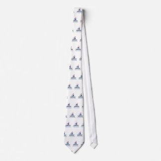 Cravate J'aime le bonhomme de neige