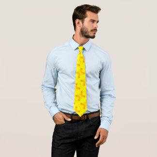 Cravate jaune radioactive