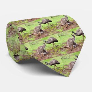 Cravate Kangaroo_And_Emu, _