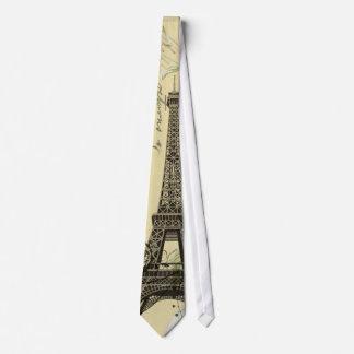 Cravate la damassé sophistiquée tourbillonne Tour Eiffel