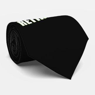 Cravate La légende s'est retirée