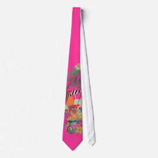 Cravate L'AMI Tai, Luau de PixDezines à la couleur de la