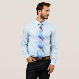 Cravate L'Aqua de turquoise de bigorneau s'est levé des