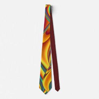 Cravate L'automne d'été de ressort fleurit la magie