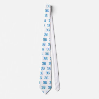 Cravate Le bleu folâtre Jerzee le numéro 36